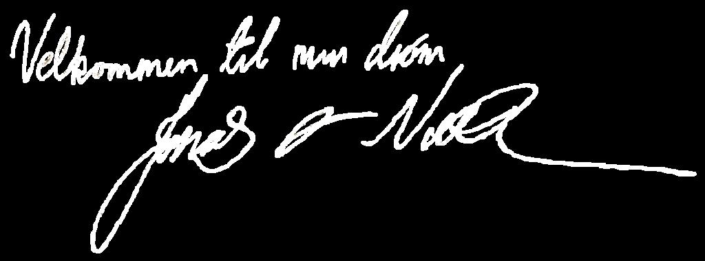Fagn Underskrift Jonas